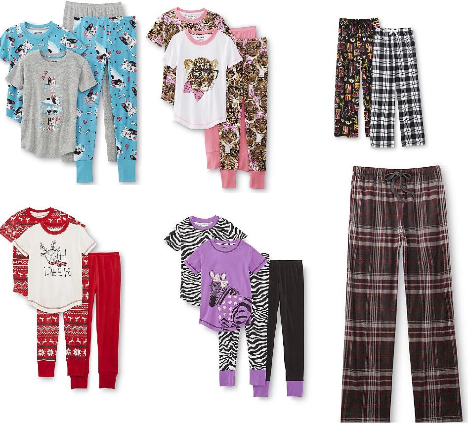 Girls  2 Pack Joe Boxer Pajamas  6.80 6473f58f3