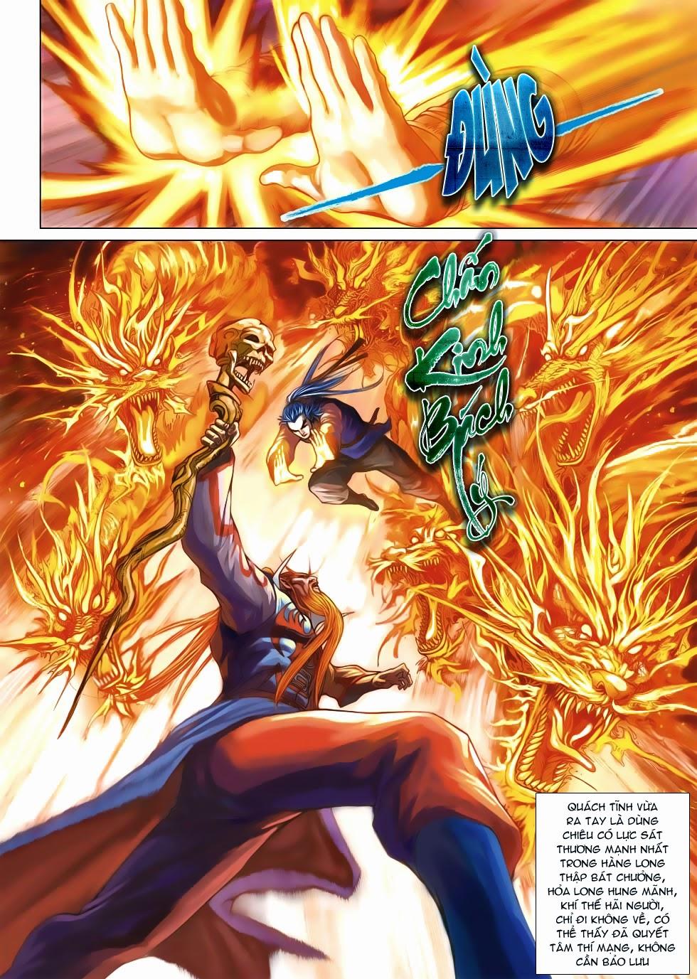 Anh Hùng Xạ Điêu anh hùng xạ đêu chap 53: lâm nguy thụ mệnh đả cẩu học pháp trang 23