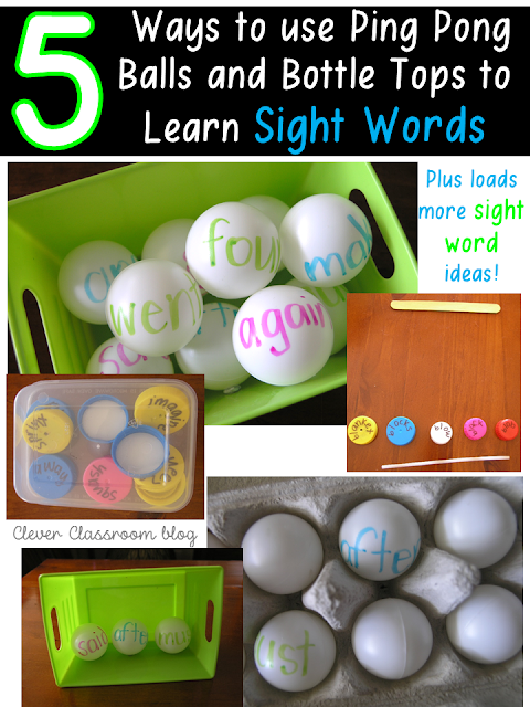 5 Sight Word Activities that are FUN
