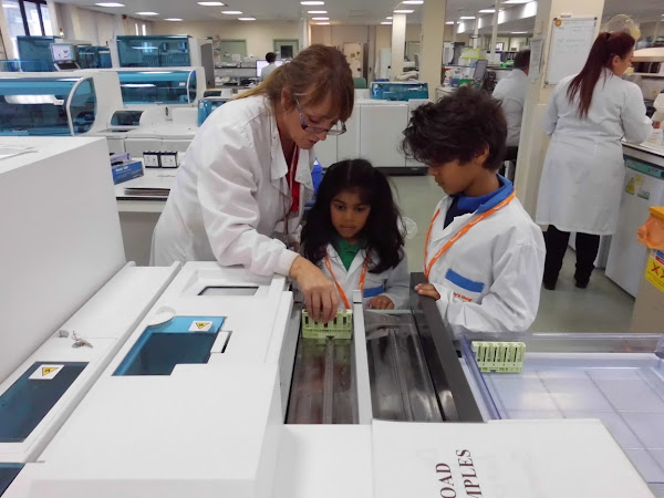 Hamza and Safina join Harvey's Gang at Great North Children's Hospital (GNCH)