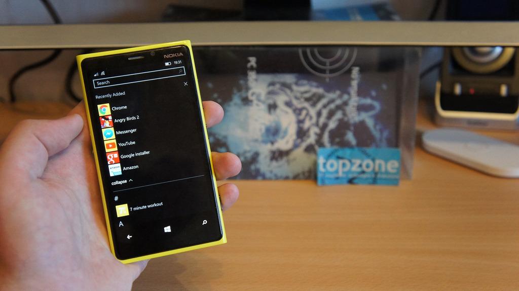comment installer les applications Windows Phone sur tablette