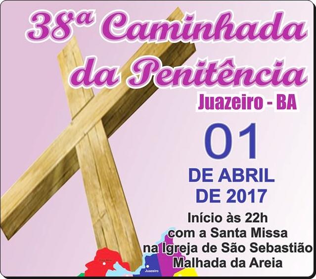 DIOCESE DE JUAZEIRO REALIZA 38ª CAMINHADA DA PENITÊNCIA NESTE SÁBADO (1)