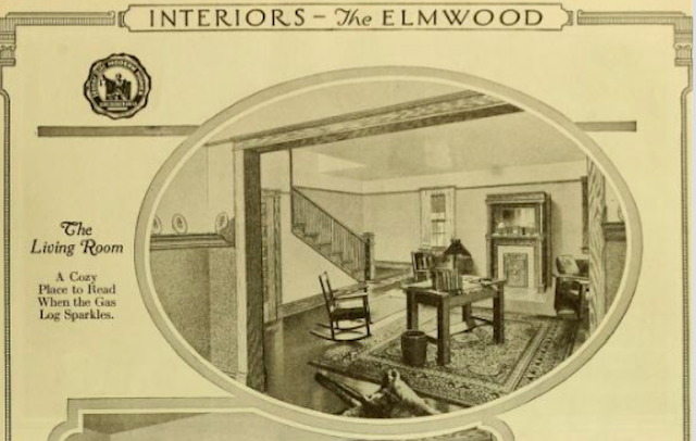 sears elmwood interior 1921 catalog