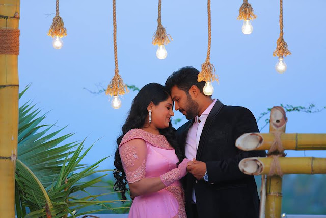 Actress Dimple Rose engagement ceremony photos