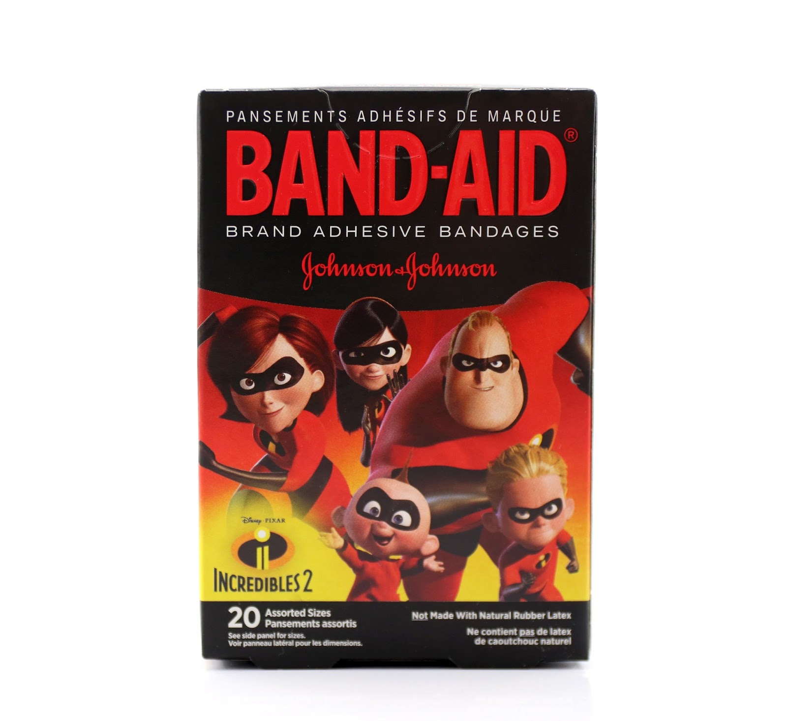 pixar incredibles 2 band-aids