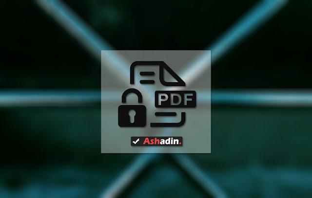Cara mengatasi file PDF yang di Proteksi agar tidak bisa di Copy dan juga di Print dengan sangat mudah
