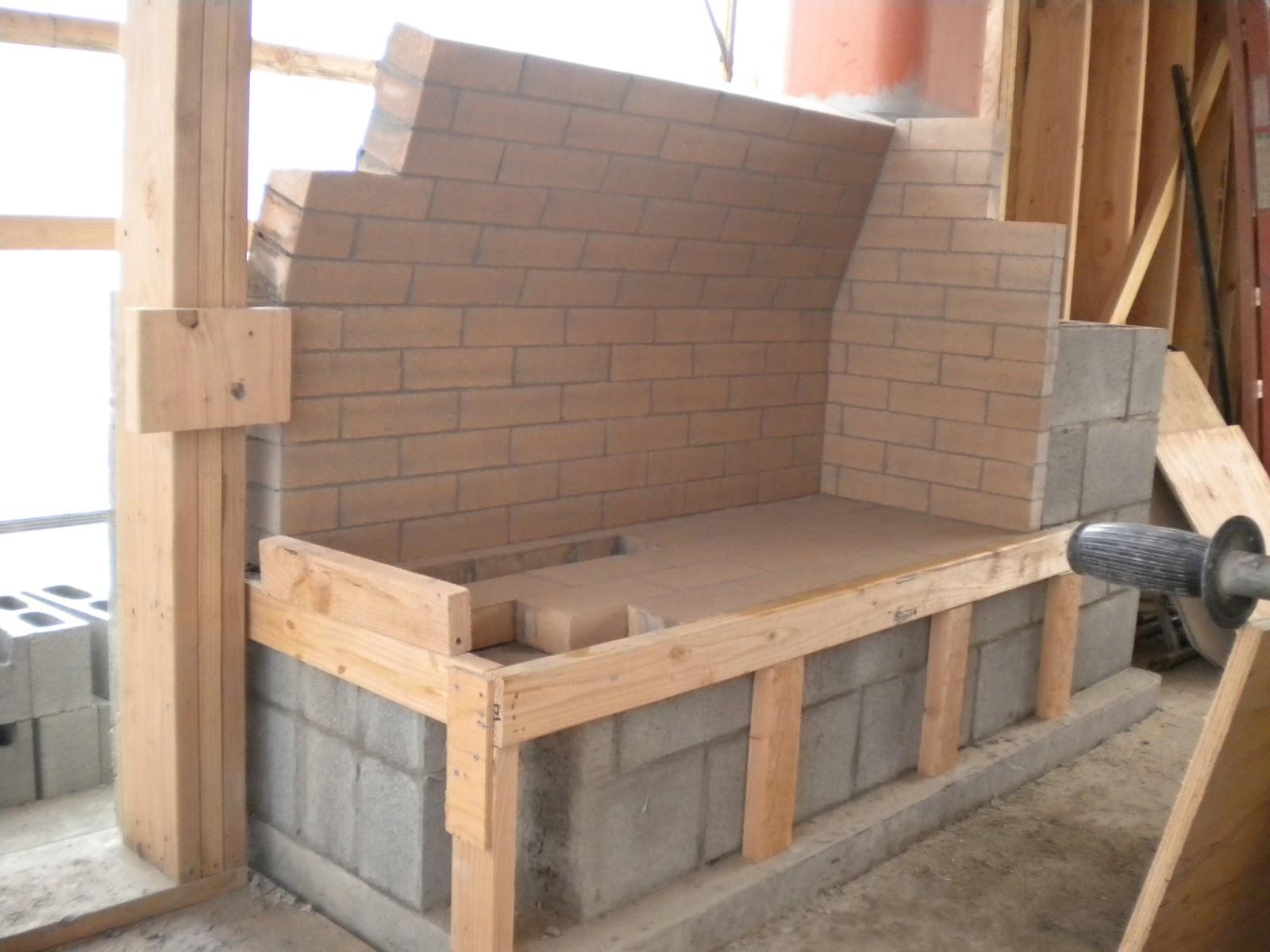 Boisineau Masonry 2nd Floor Fireplace Firebox Angled Walls