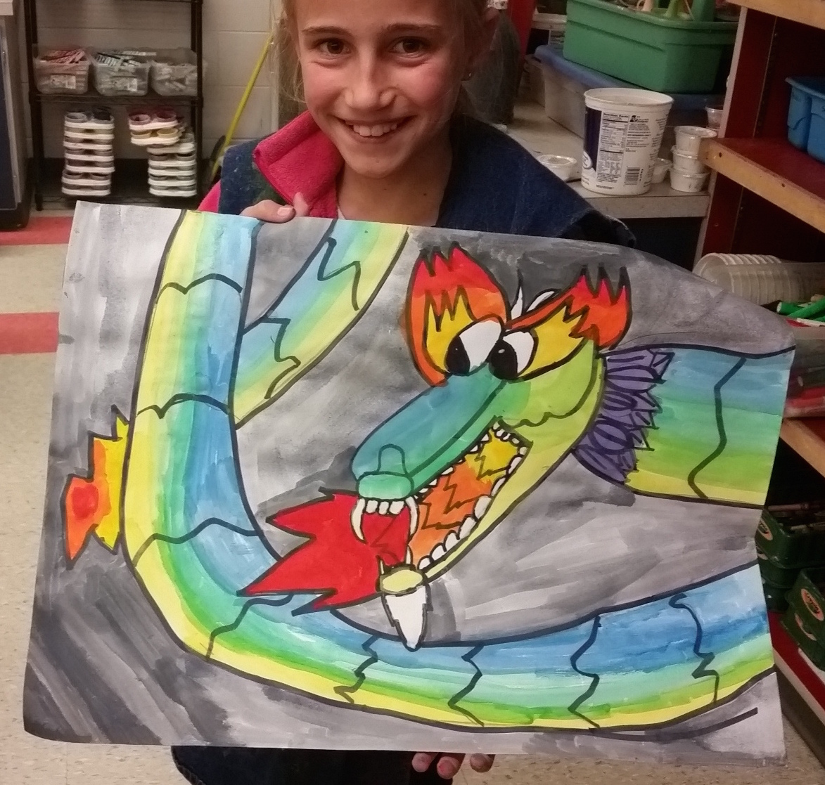 Art with Mrs  Seitz: Chinese Dragons