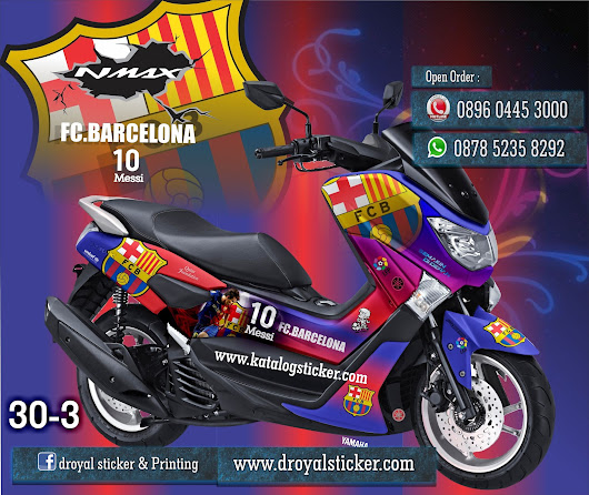 sticker NMAX decal Printing