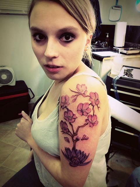 La Flor Del Cerezo Y Su Significado Belagoria La Web De Los Tatuajes