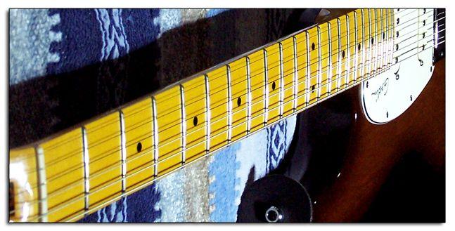 Pulido de los Trastes de la Guitarra