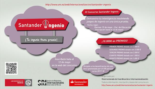 """III Concurso """"Santander Ingenio""""."""