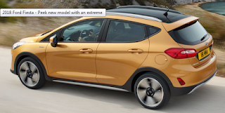 2018 Ford Fiesta - new model with an extreme