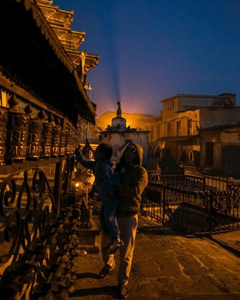 Syambhunath Stupa kathmandu nepal photo