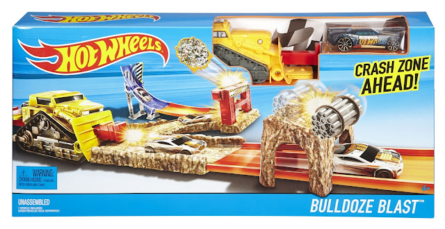 Hotwheels Bulldoze track set