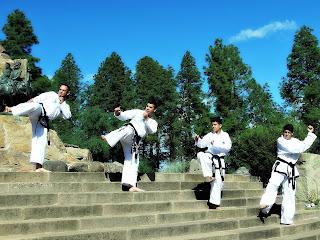 Equipe de Taekwondo - Parque General San Martín, Mendoza
