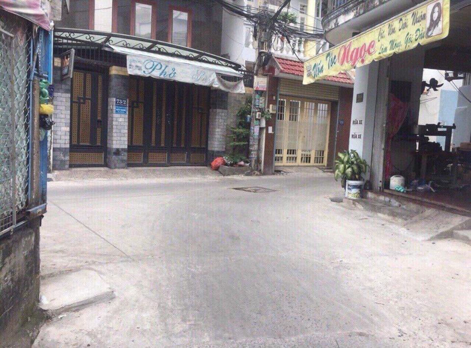 Bán nhà hẻm xe hơi 73 Tân Sơn Nhì quận Tân Phú. DT 4x11m
