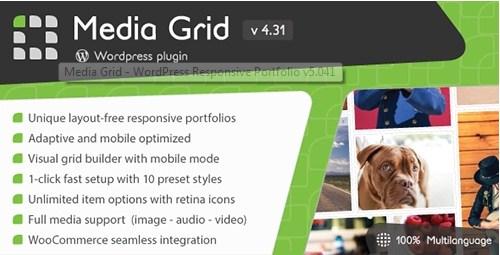 Media Grid v5.041 Wordpress Plugin