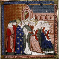 Boda de Leonor de Aquitania
