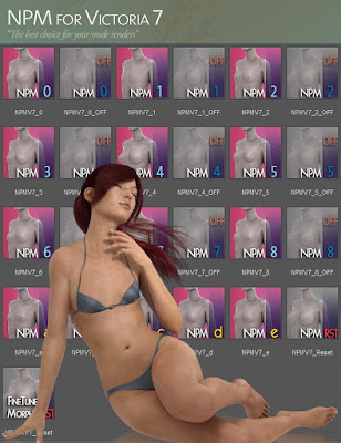 Natural Petite Morphs for Victoria 7
