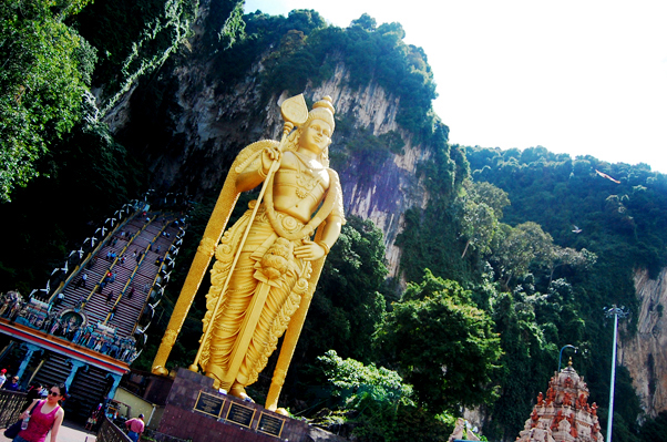 bowdywanders.com Singapore Travel Blog Philippines Photo :: Malaysia :: Batu Caves in Kuala Lumpur, Malaysia