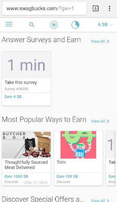 Swagbucks से पैसे कैसे कमाए