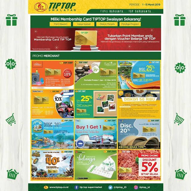 #TipTop - #Promo #Katalog 2 Mingguan Periode 01 - 15 Maret 2019
