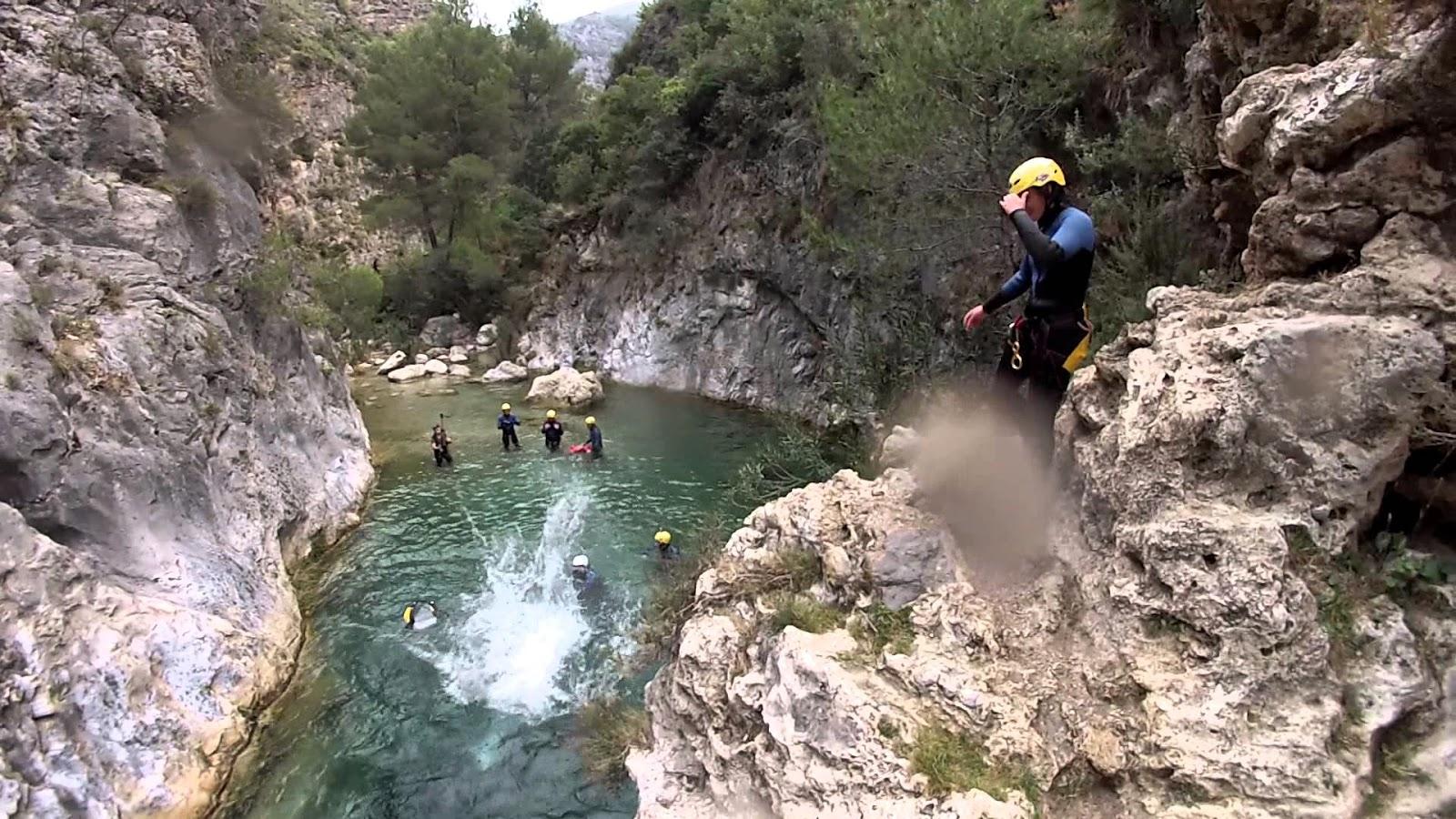 Las pozas del Río Verde en Granada