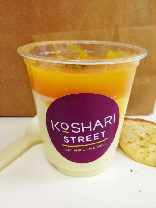Egyptian Food at Koshari Street