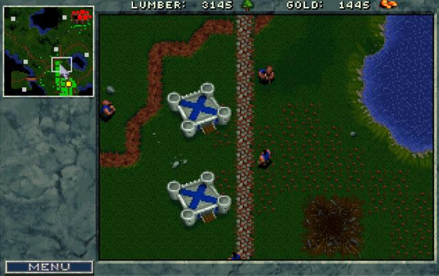 Warcraft 1 Barracks Screenshot