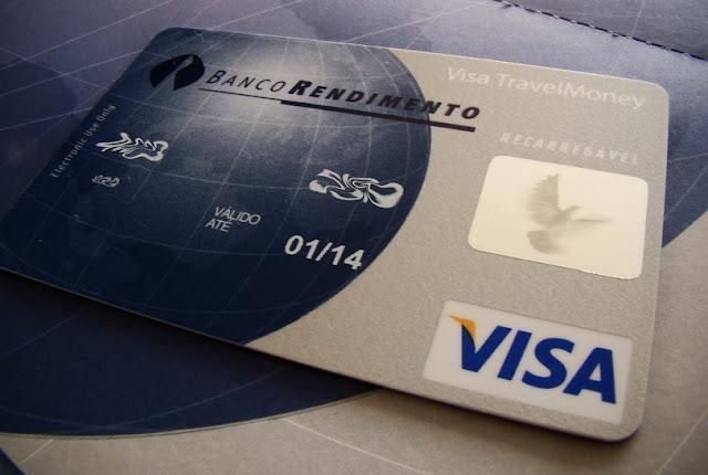 Cartão pré pago internacional para levar para Veneza