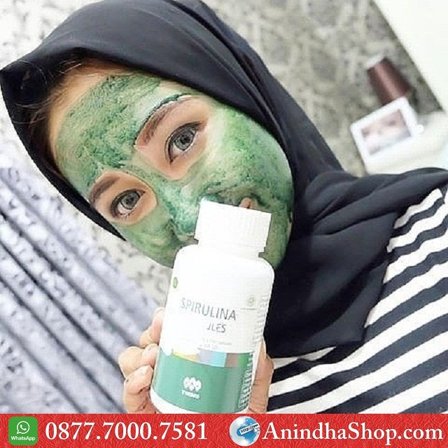 Masker Spirulina Malang