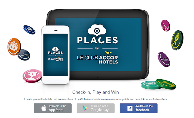 AccorHotels雅高集團打卡免費賺取積分活動介紹(Places by Le Club AccorHotels活動)