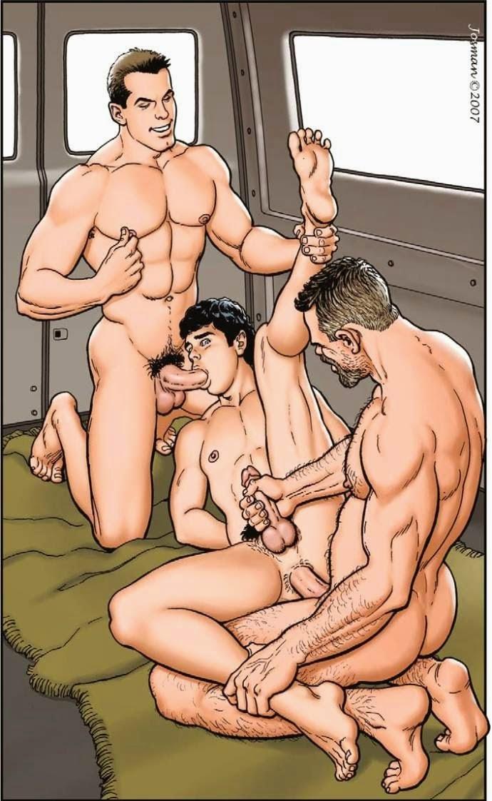 homens de cueca animes gay
