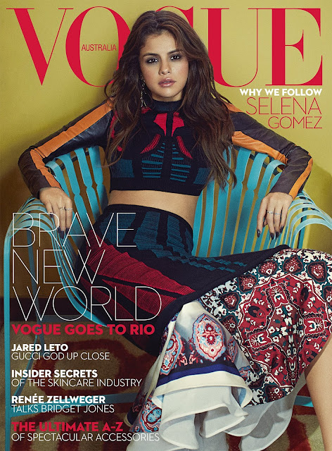 Actress, Singer, @ Selena Gomez - Vogue Australia September 2016