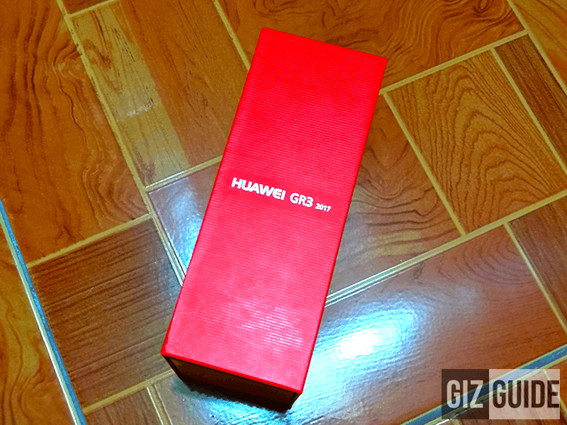 The red enticing box of the phone