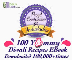 Featured in Indusladies Diwali Recipe Ebook