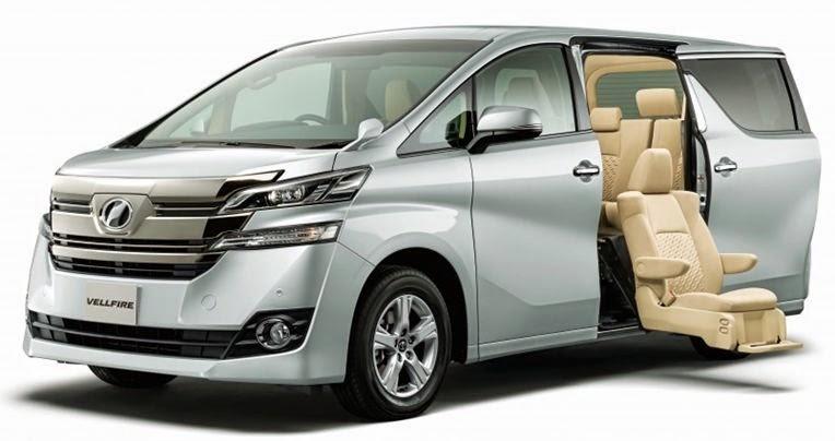 Brosur Toyota Vellfire Riau