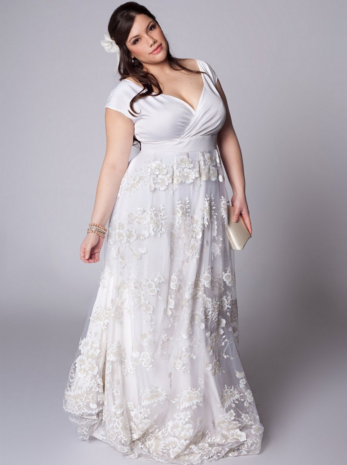 Plus Size for Mature Brides | bridal and prom ideas