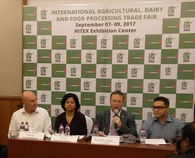 Agritex 2017 to focus on Agriculture, Dairy, Horticulture, Food Processing & Aqua Culture