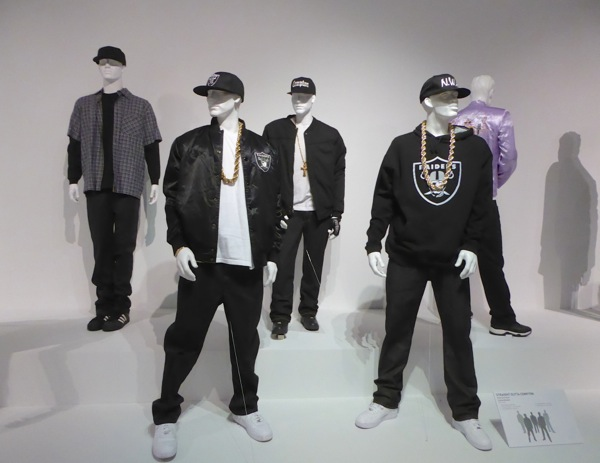 Straight Outta Compton movie costume exhibit