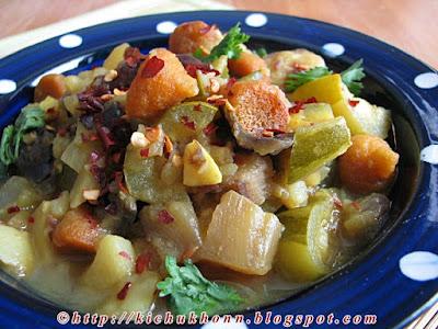odiya vegetables santula