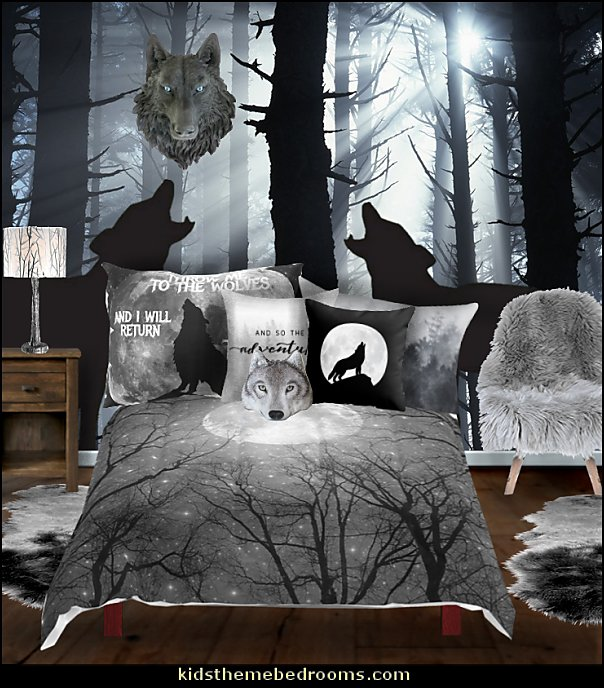 Twilight Wolf Bedroom Jacob Ideas Decorating Decor