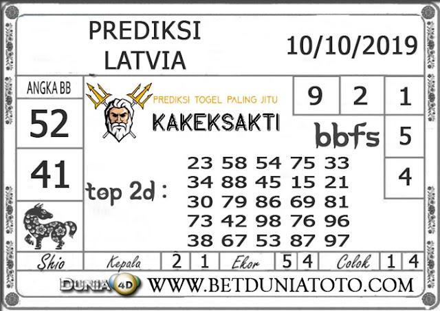 """Prediksi Togel """"LATVIA"""" DUNIA4D 10 OKTOBER 2019"""
