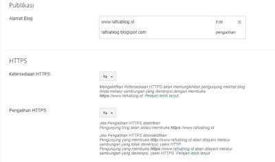 Cara Mengaktifkan SSL/HTTPS Blogspot pada Domain TLD