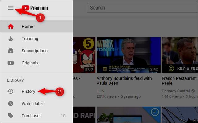 كيفية حذف سجل مشاهدة يوتيوب وسجل البحث