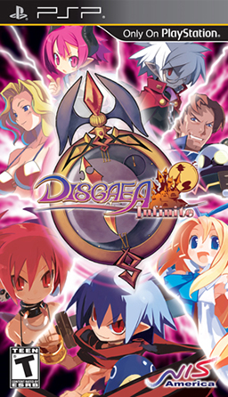 Disgaea Infinite - PSP - ISO Download