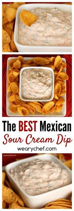 Easy Mexican Sour Cream Dip Recipe
