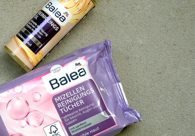 DM Haul - Balea Reinigungsöl und Mizellen Reinigungstücher
