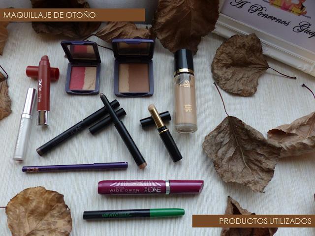 Productos maquillaje de otoño